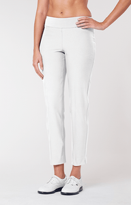 "Mulligan 28"" Ankle Pant - Chalk White"
