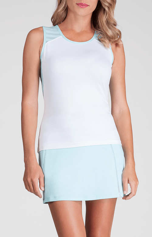 Analee Tank - White