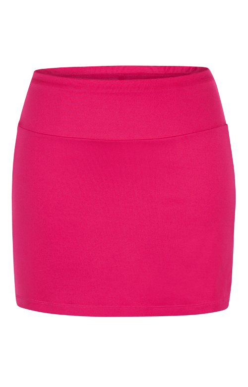 Garnet Red Amani Skort - 14.5in Length