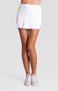 White Loria Skort - 13.5in Length