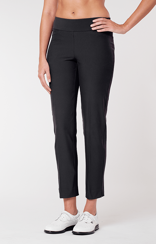 Mulligan Black Ankle Pant - Extended Sizes