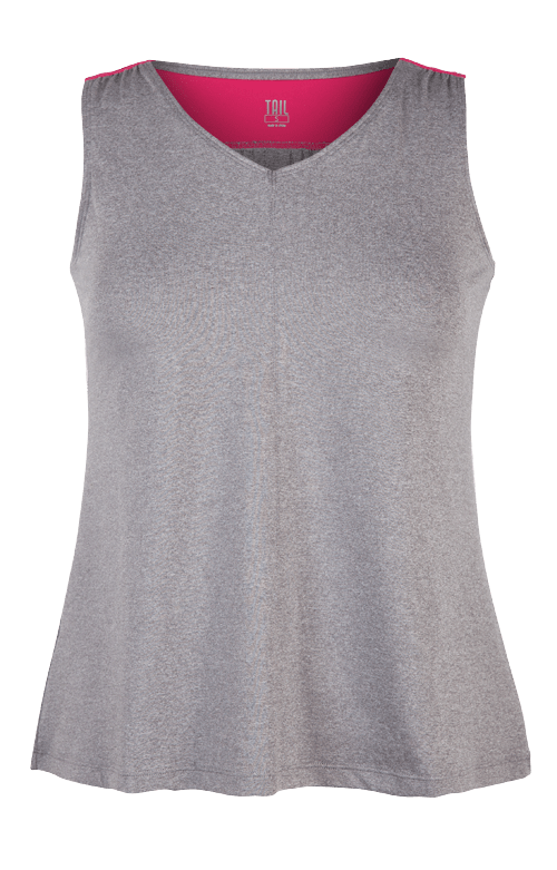 Veronique Tank - Frosted Heather