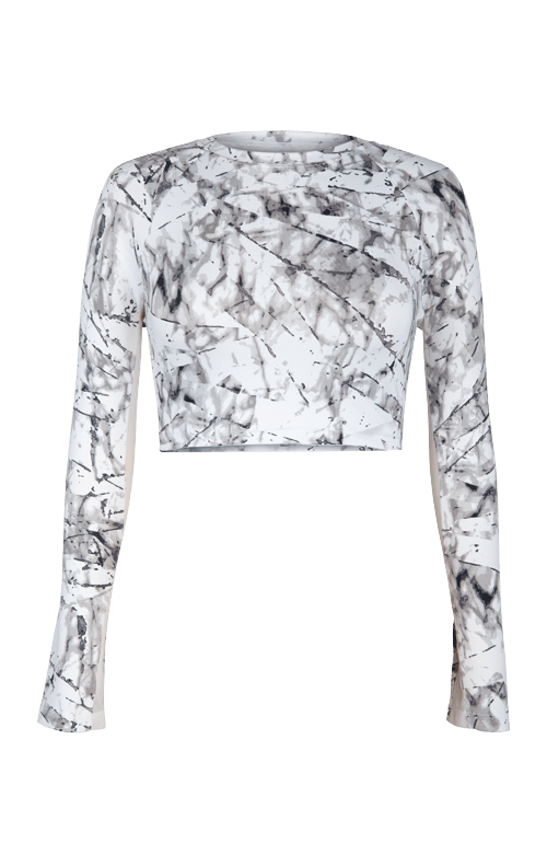 Sasha Layering Top - Fissure - White - FINAL SALE