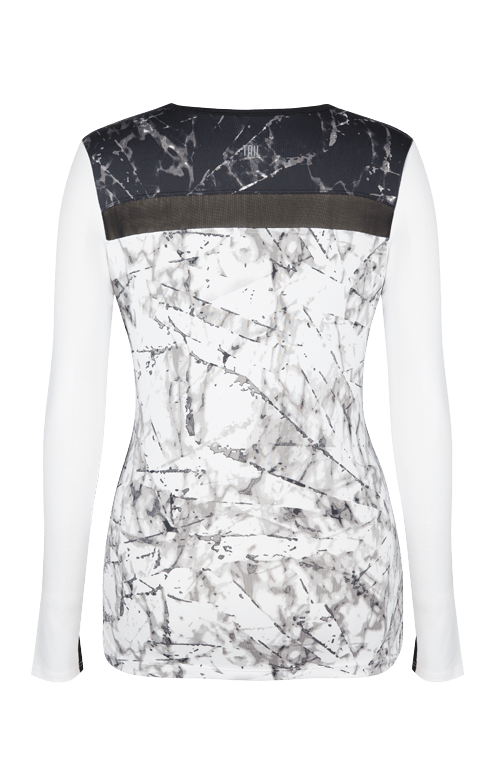 Rosalee Top - Fissure -White