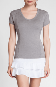 Lacasi Top - Frosted Heather - FINAL SALE