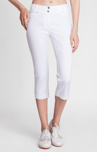 Getaway White Capri - FINAL SALE