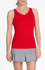 Julene Red Tank - FINAL SALE