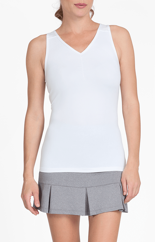 Julene White Tank - FINAL SALE