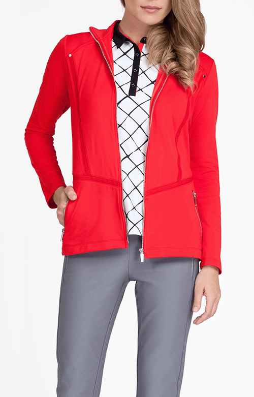 Leilani Jacket - Red Pepper