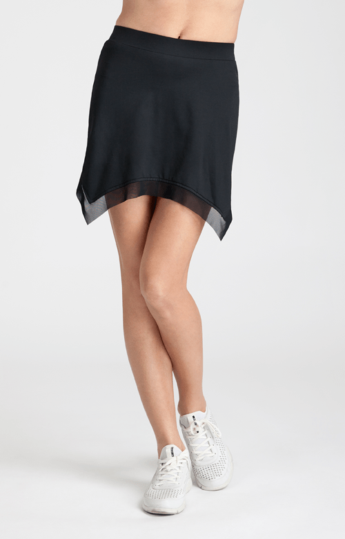 Black Joan Skort - 14.5in Length