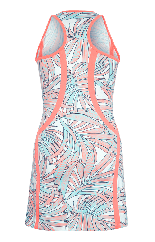 Jenna Dress - Palms-Tahiti