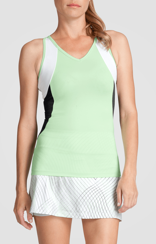 Judy Tank - Honeydew - FINAL SALE