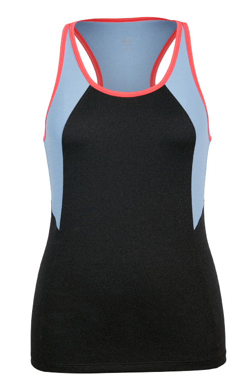 Tenille Tank - Black Heather