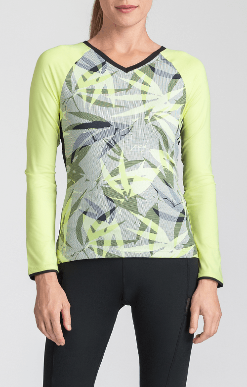 Patrice Top - Intrigue Chartreuse - FINAL SALE