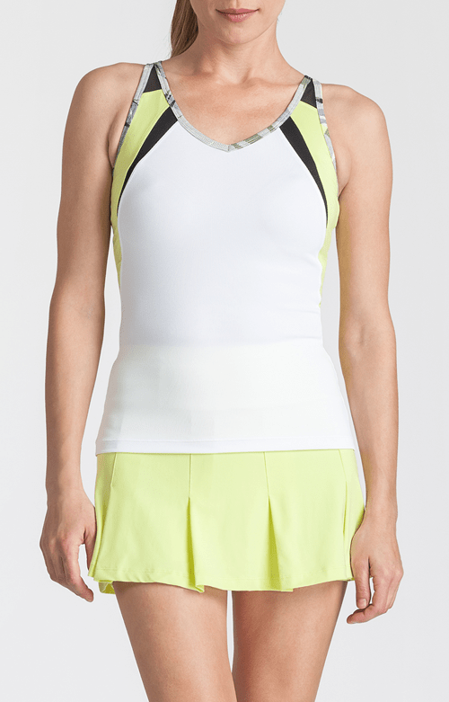 Natalie Tank - White - FINAL SALE