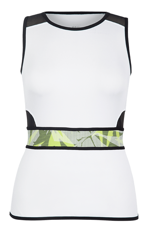 Sandra Tank - White - FINAL SALE