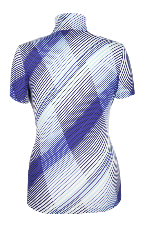 Ophilia Top - Accent-Indigo - FINAL SALE