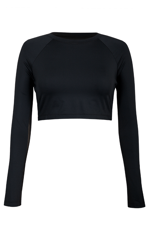 Sasha Layering Top - Black