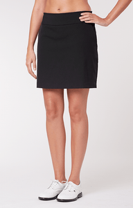 "Mulligan Black Skort - 18"" Outseam"