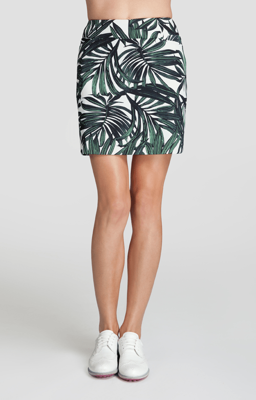 Helaine Skort - Sabal Palm-Honeydew - 18in Outseam
