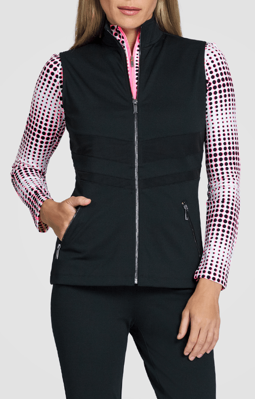 Pembroke Vest - Black - FINAL SALE