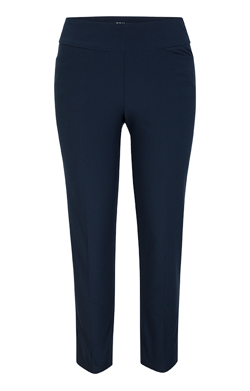 Mulligan Night Navy Ankle Pant