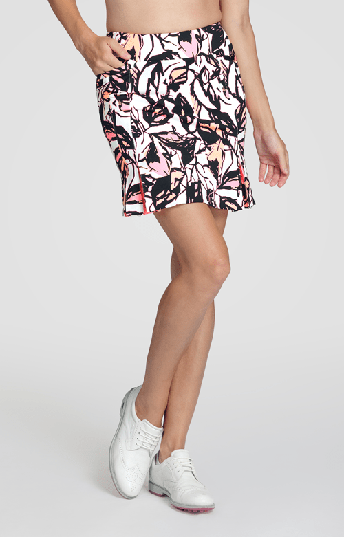 Dalton Skort - Vibrant Bloom-Taffy - 18in Outseam