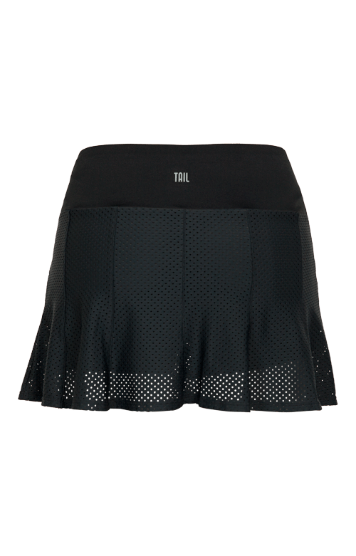 Shayla Skort - Black - 13.5in Length