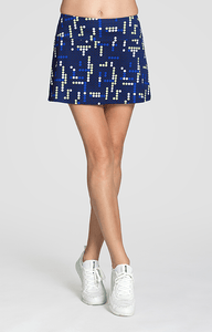 "Yves Skort - Bright Lights - 13.5"" Length - FINAL SALE"