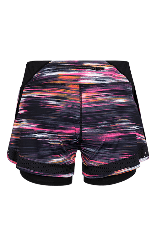 Esmeralda Shorts - Brushed Print