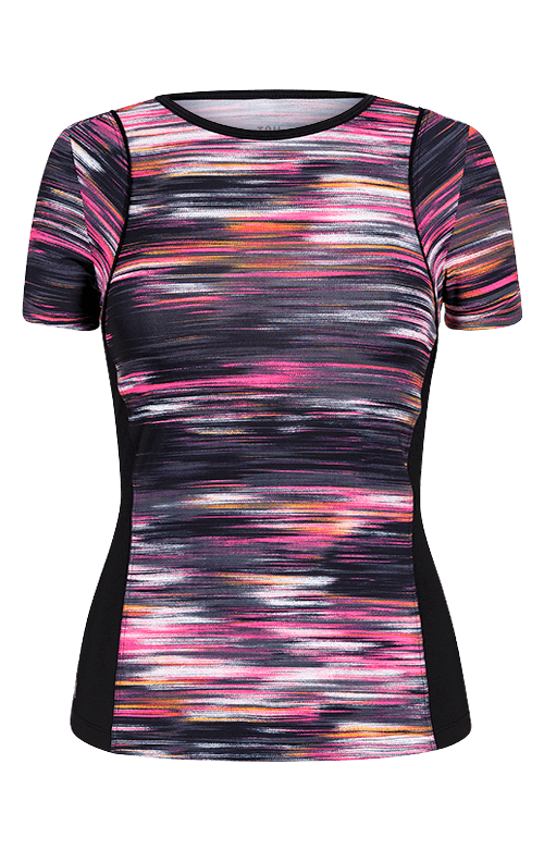 Mary Jo Top - Brushed Print