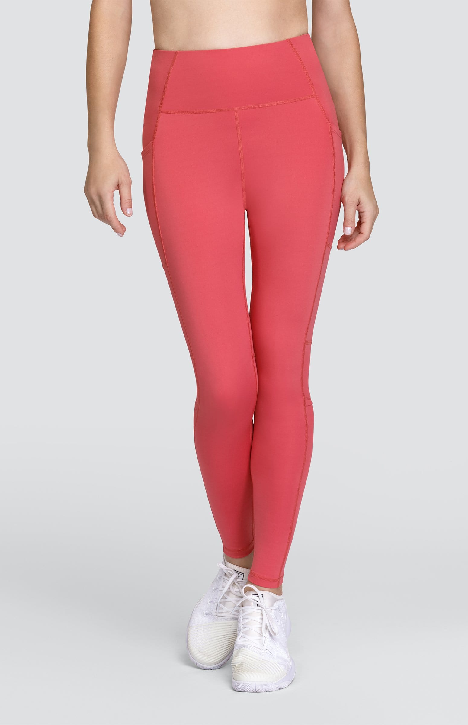 Terry Leggings - Cherry Rose