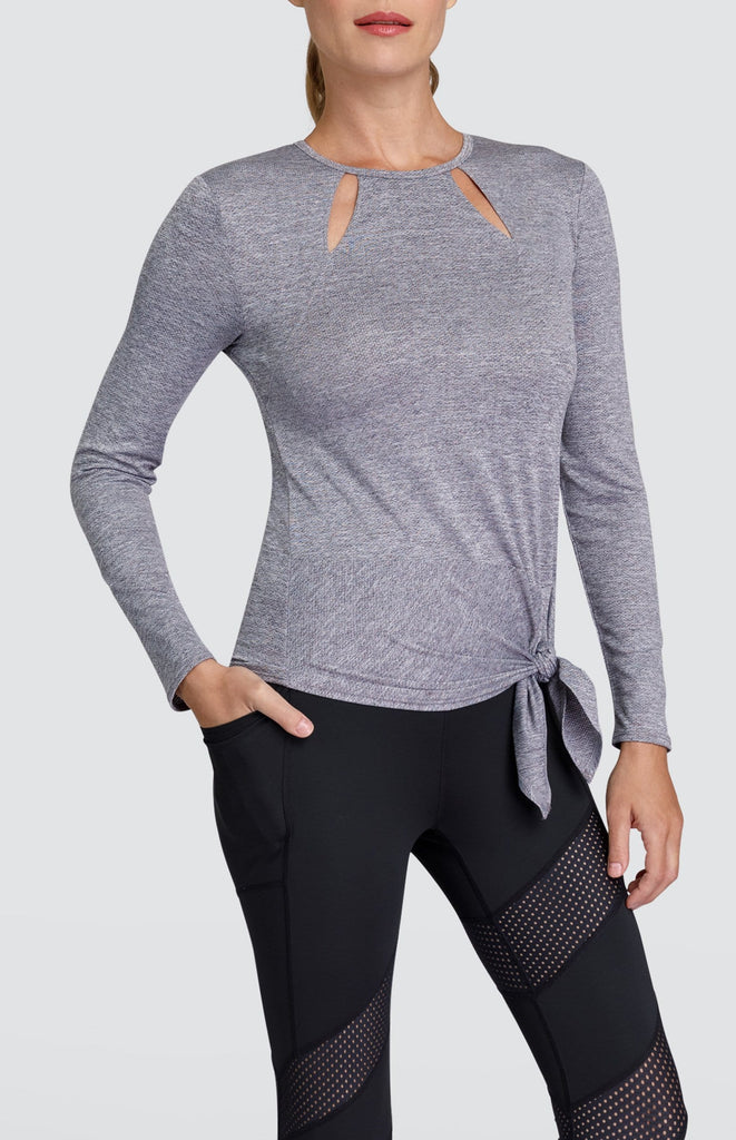 Julieta Top - Frosted Heather
