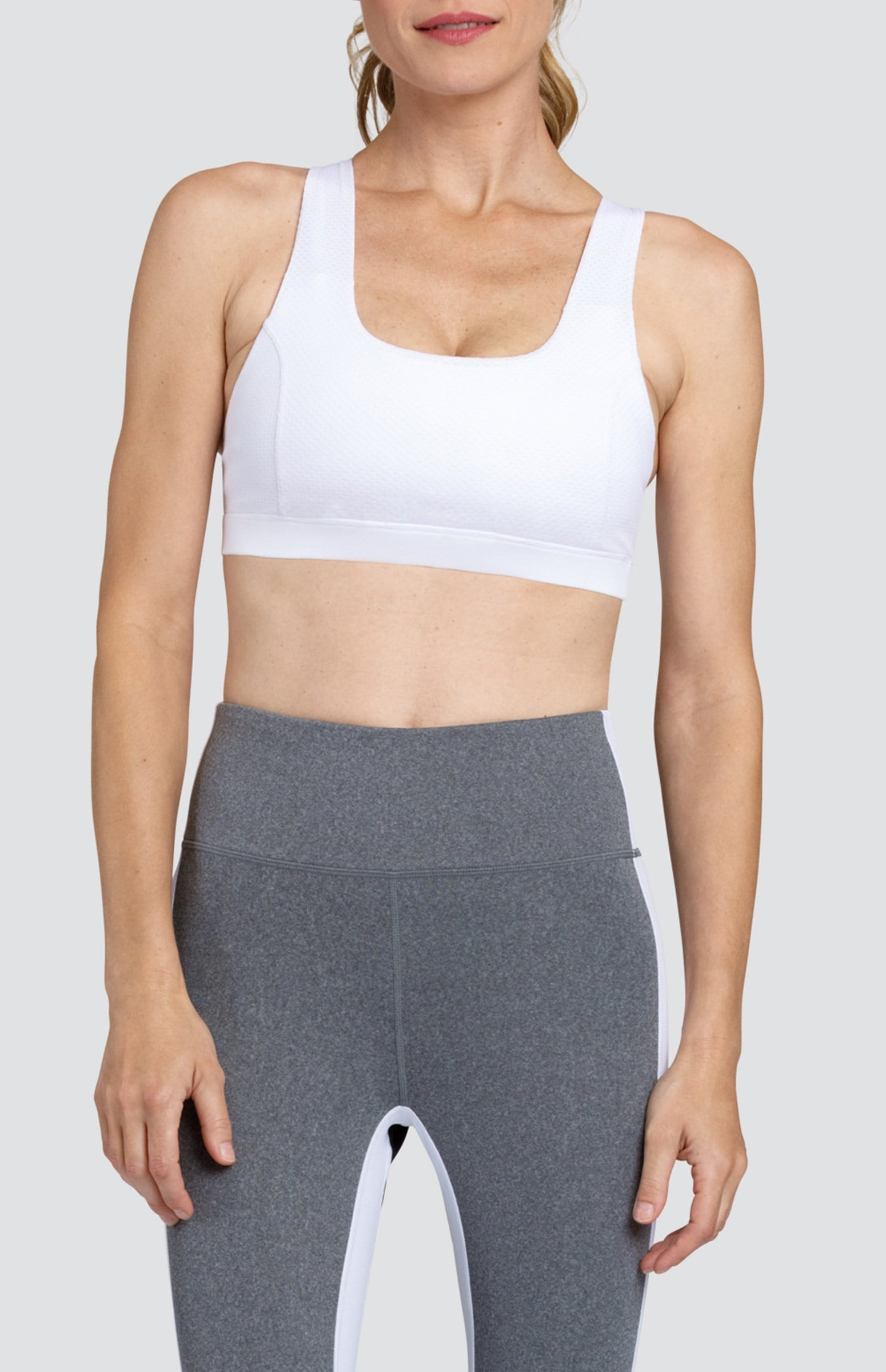 Kenia Sports Bra - Chalk White