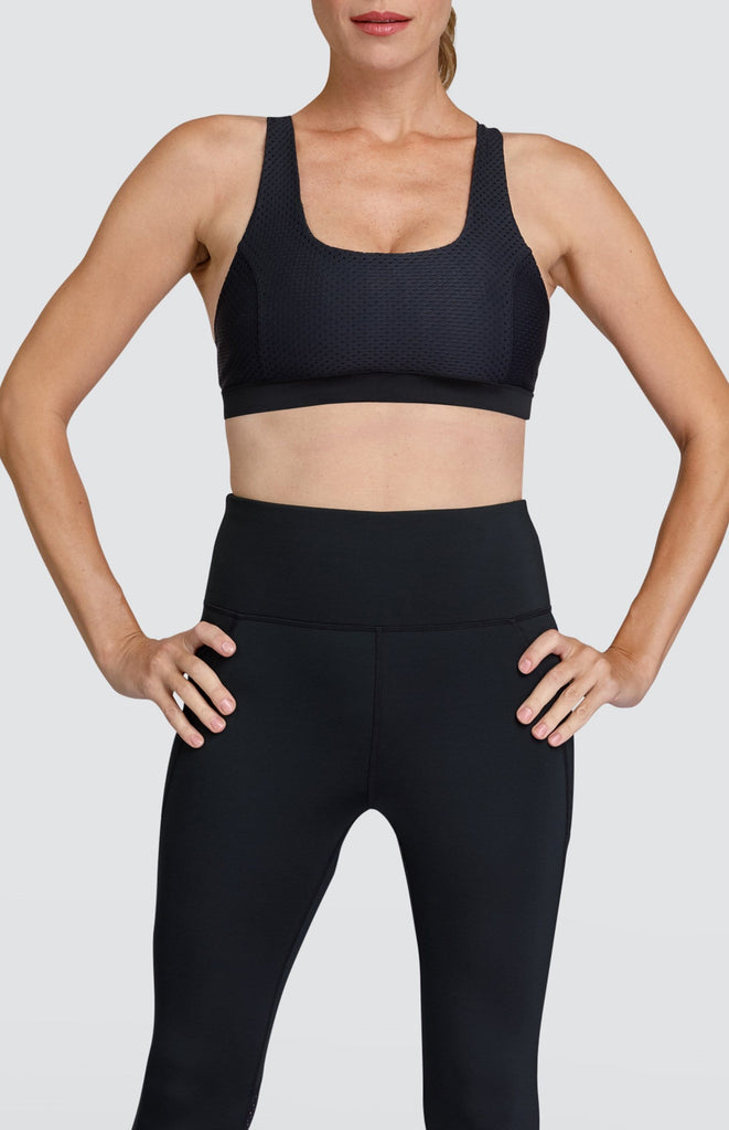 Kenya Sports Bra - Black