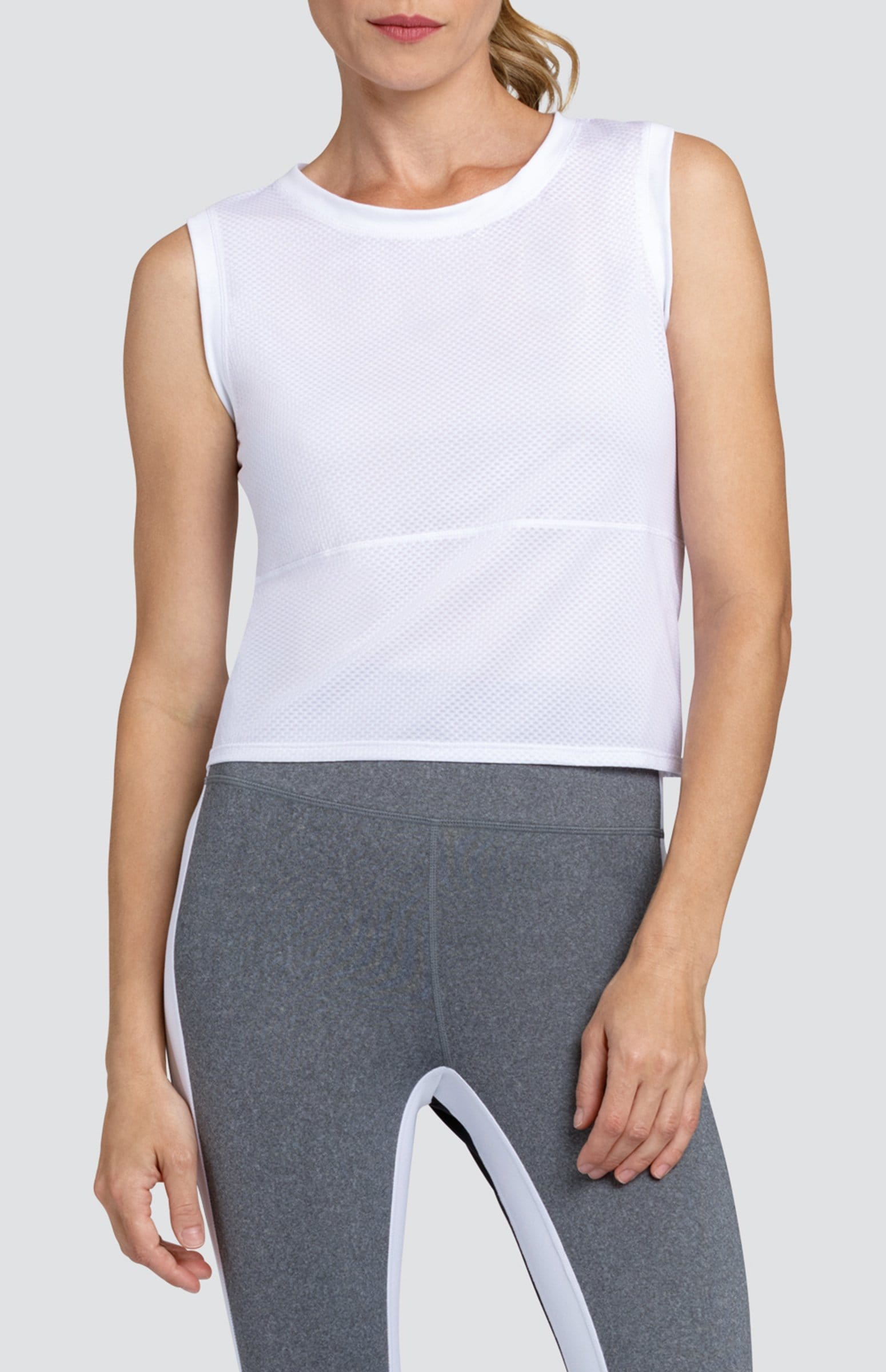 Saniyah Tank - White