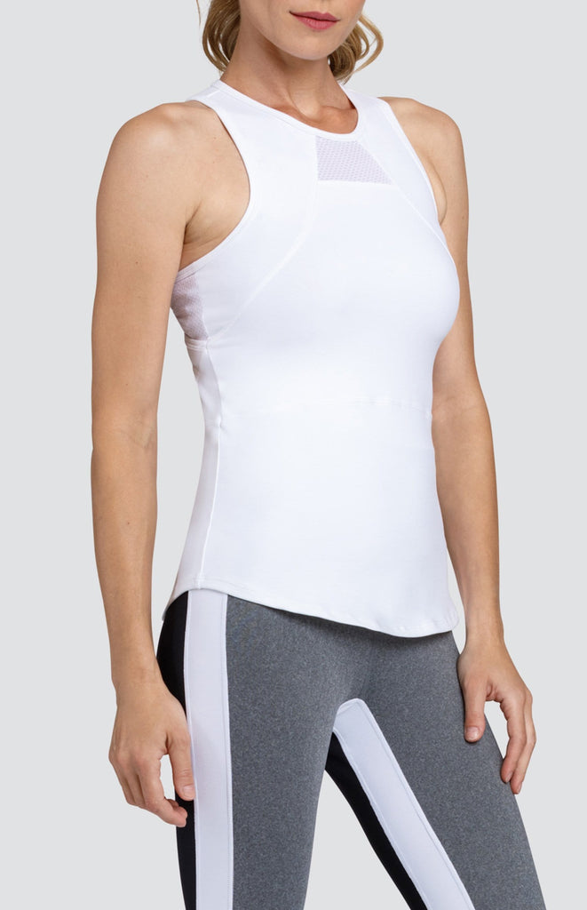 Arwen Tank - Chalk White