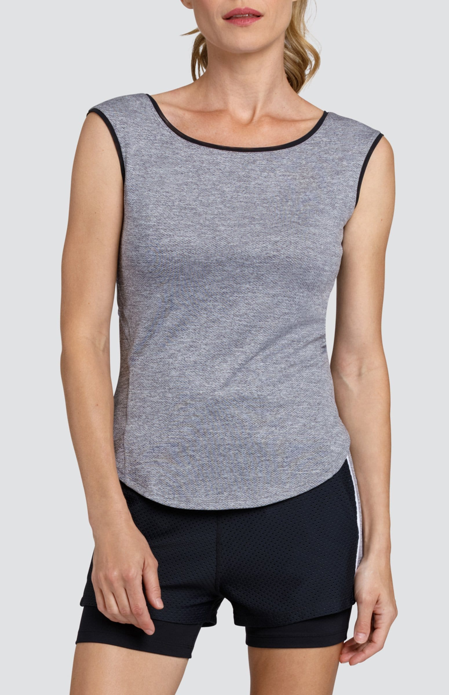 Rylie Top - Frosted Heather