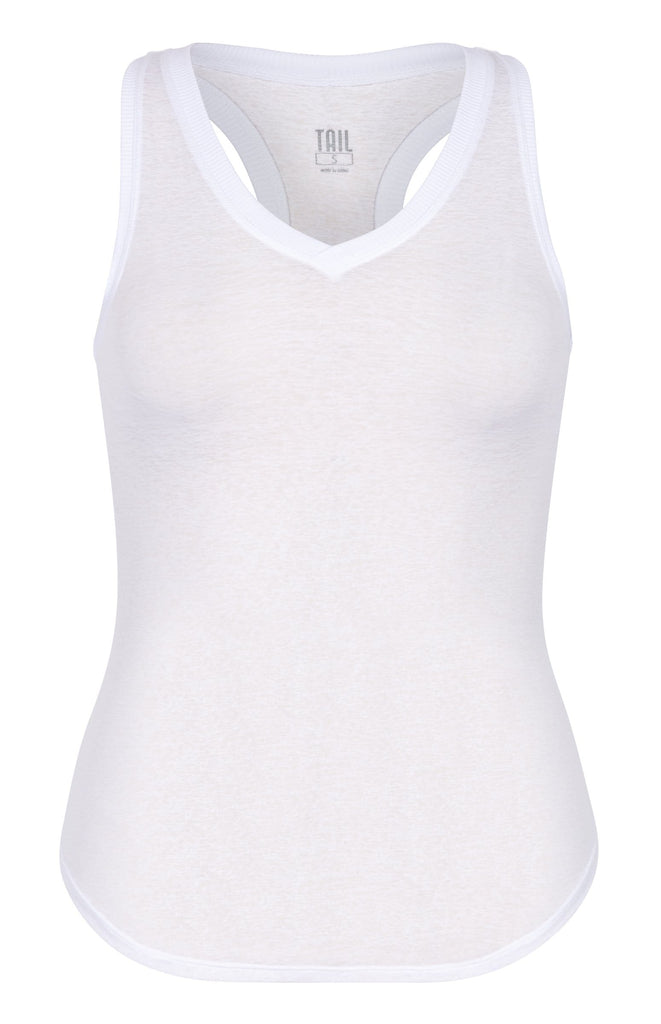Madison Tank - Chalk White