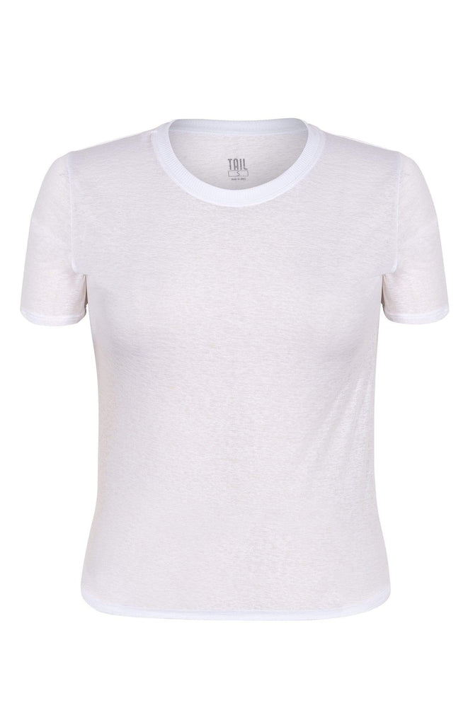 Geneva Top - Chalk White