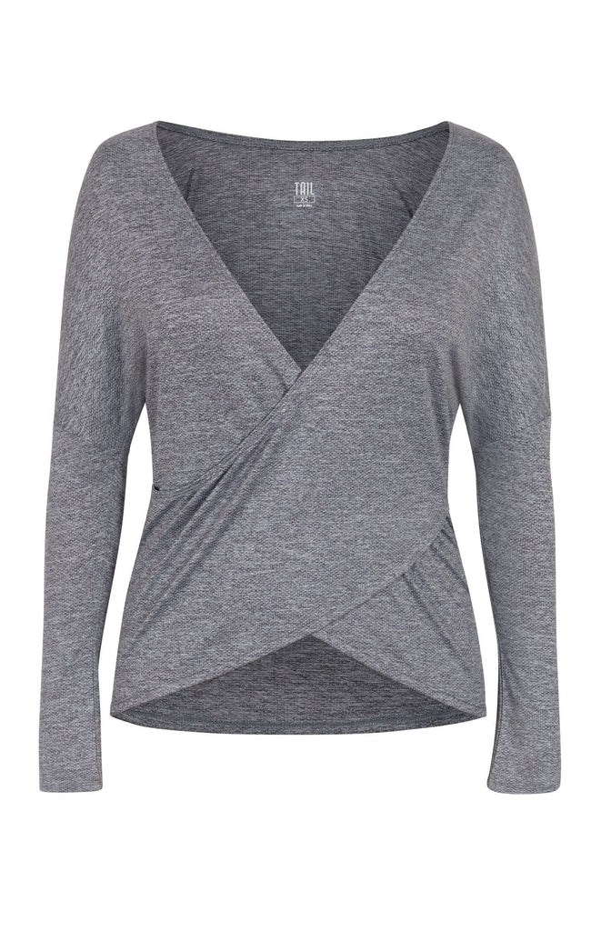 Victoria Top - Frosted Heather
