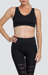Cayman Sports Bra - Onyx Black