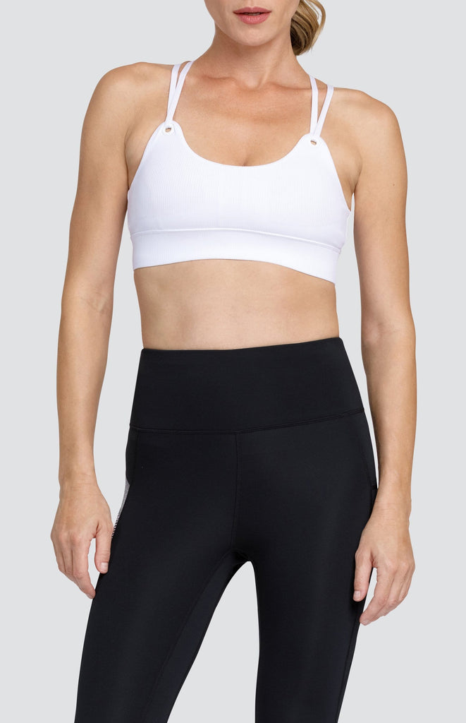 Austin Sports Bra - Chalk White
