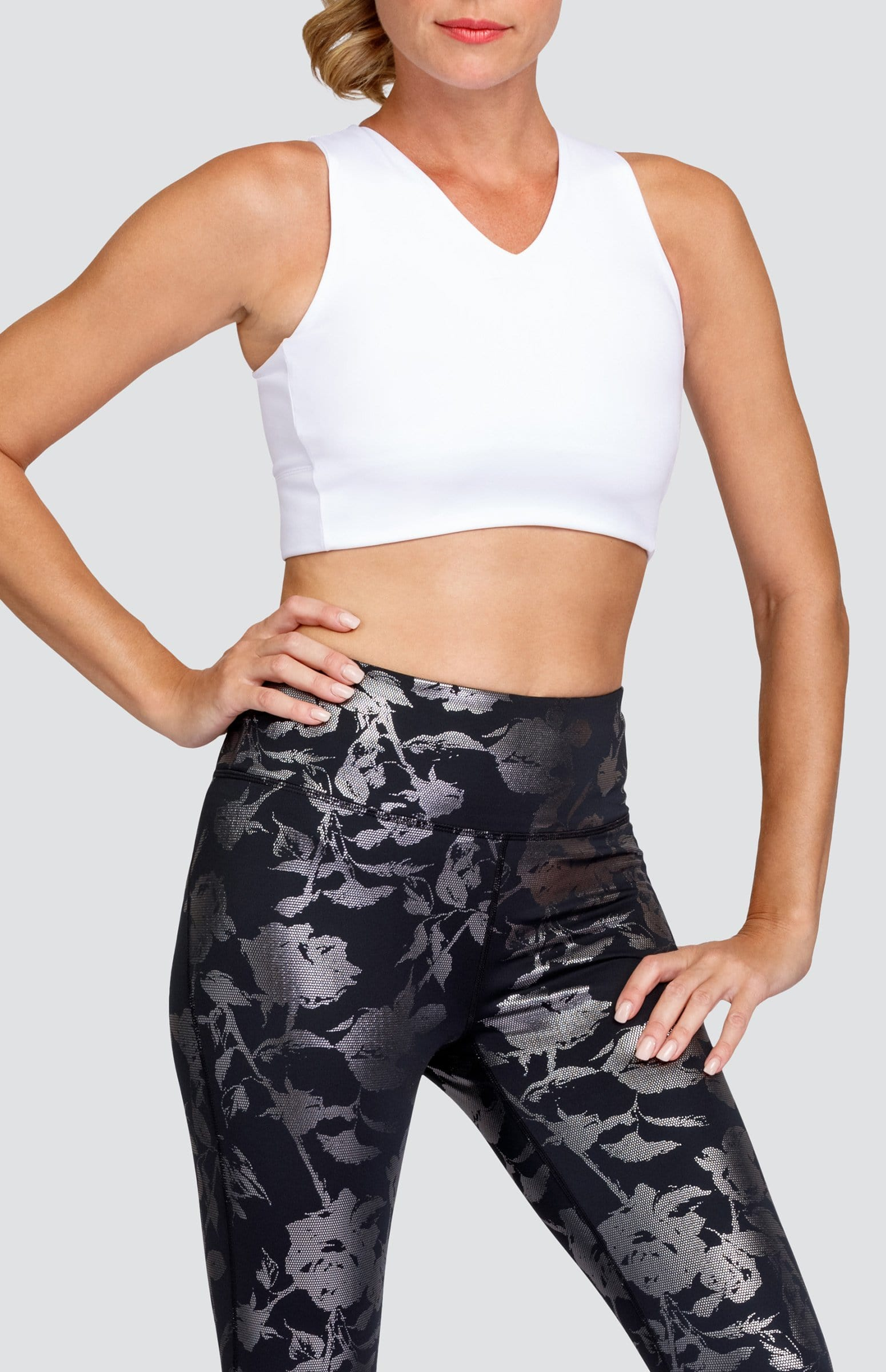 Bambi Sports Bra - Chalk