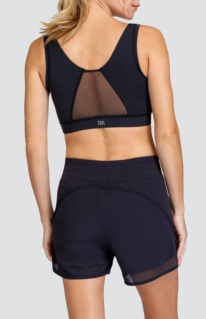 Laurent Sports Bra - Onyx