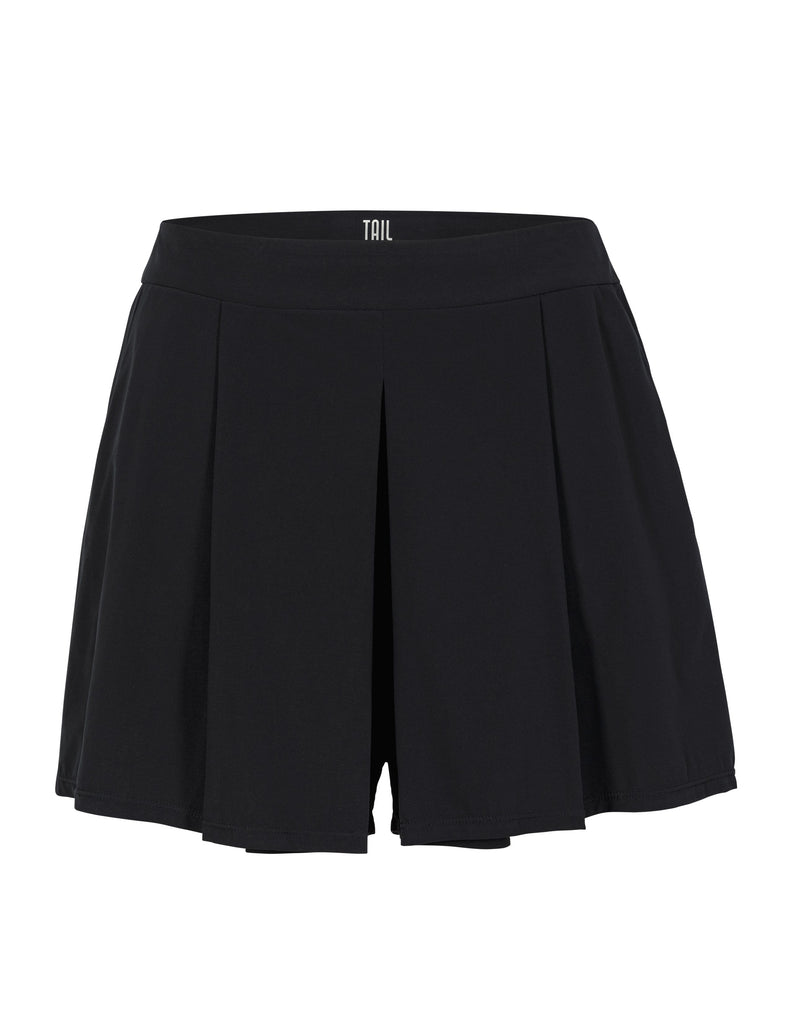 Cali Pleated Short - Black
