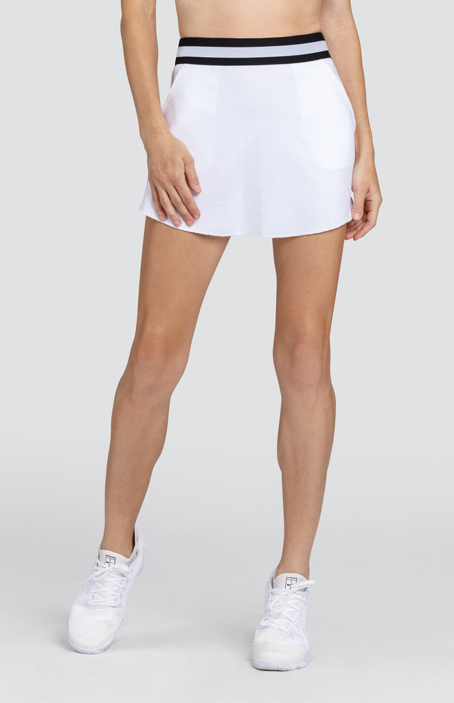 "Adora Skirt - Chalk White - 14.5"" Length"