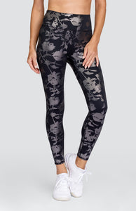 Fauna Leggings - Metallic Rose
