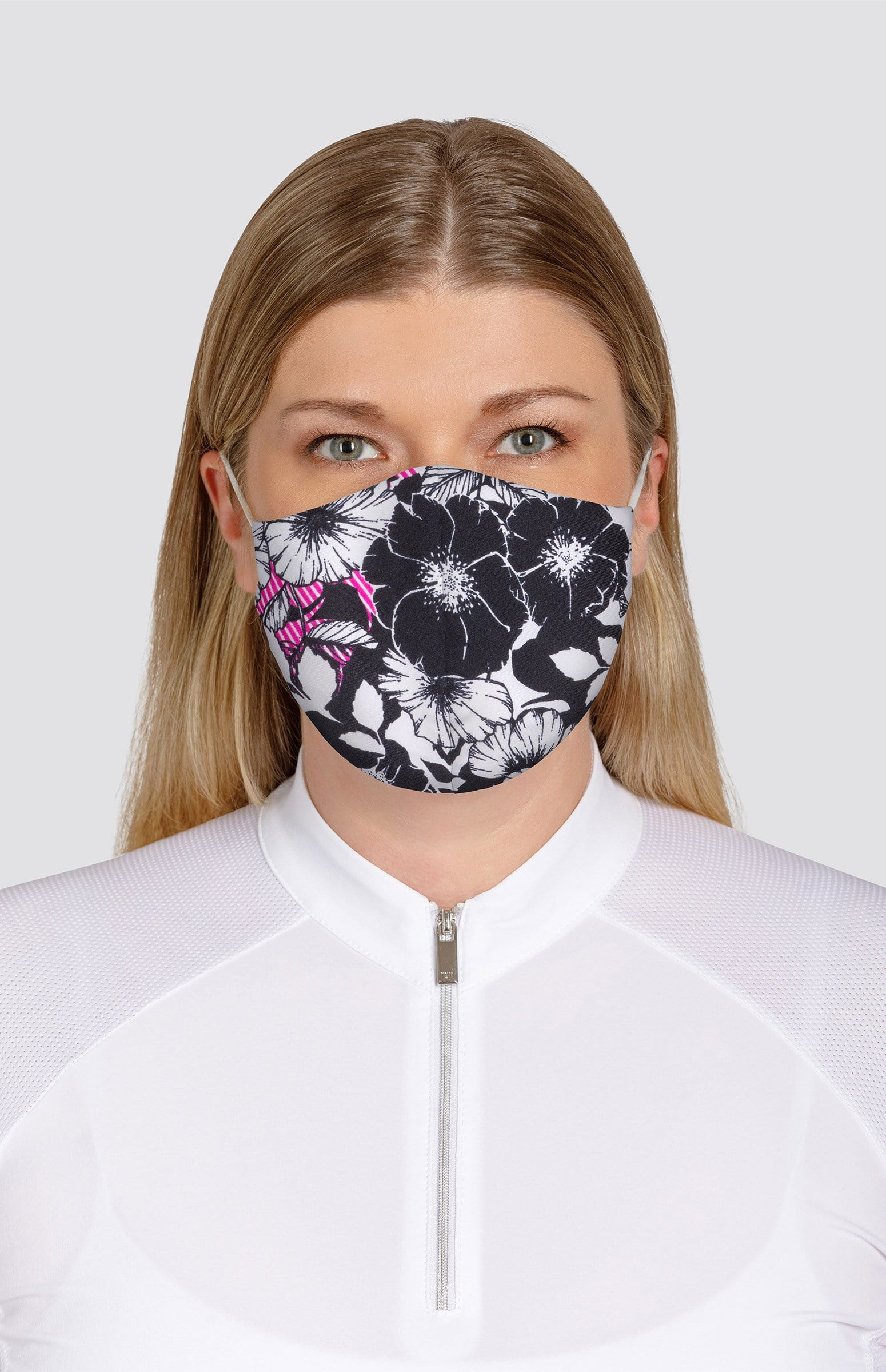 Floral Print Non-Medical Face Mask