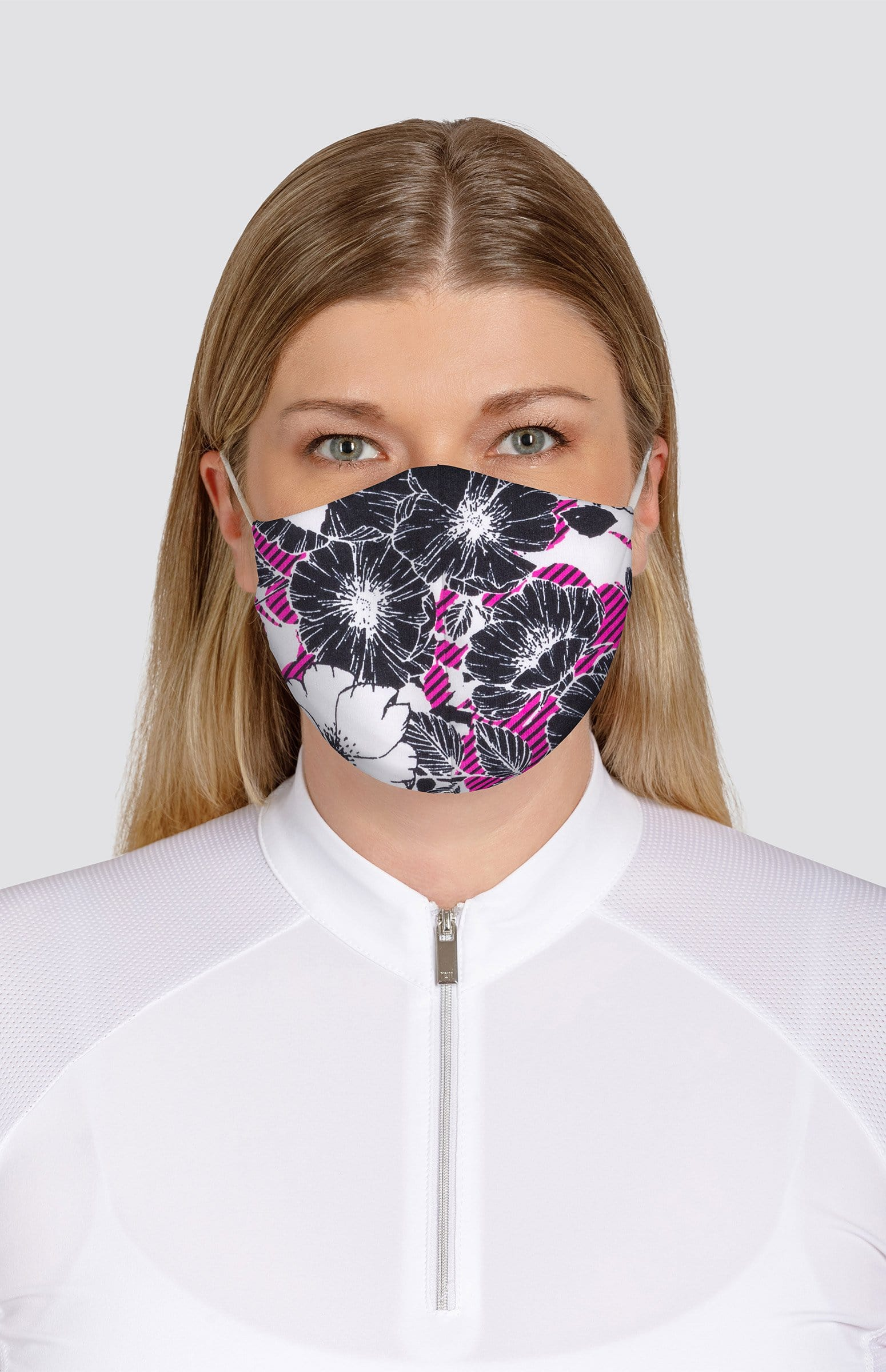 Floral-Dark Print Non-Medical Face Mask